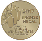 Bronzová medaila z New York Wine and Spirits